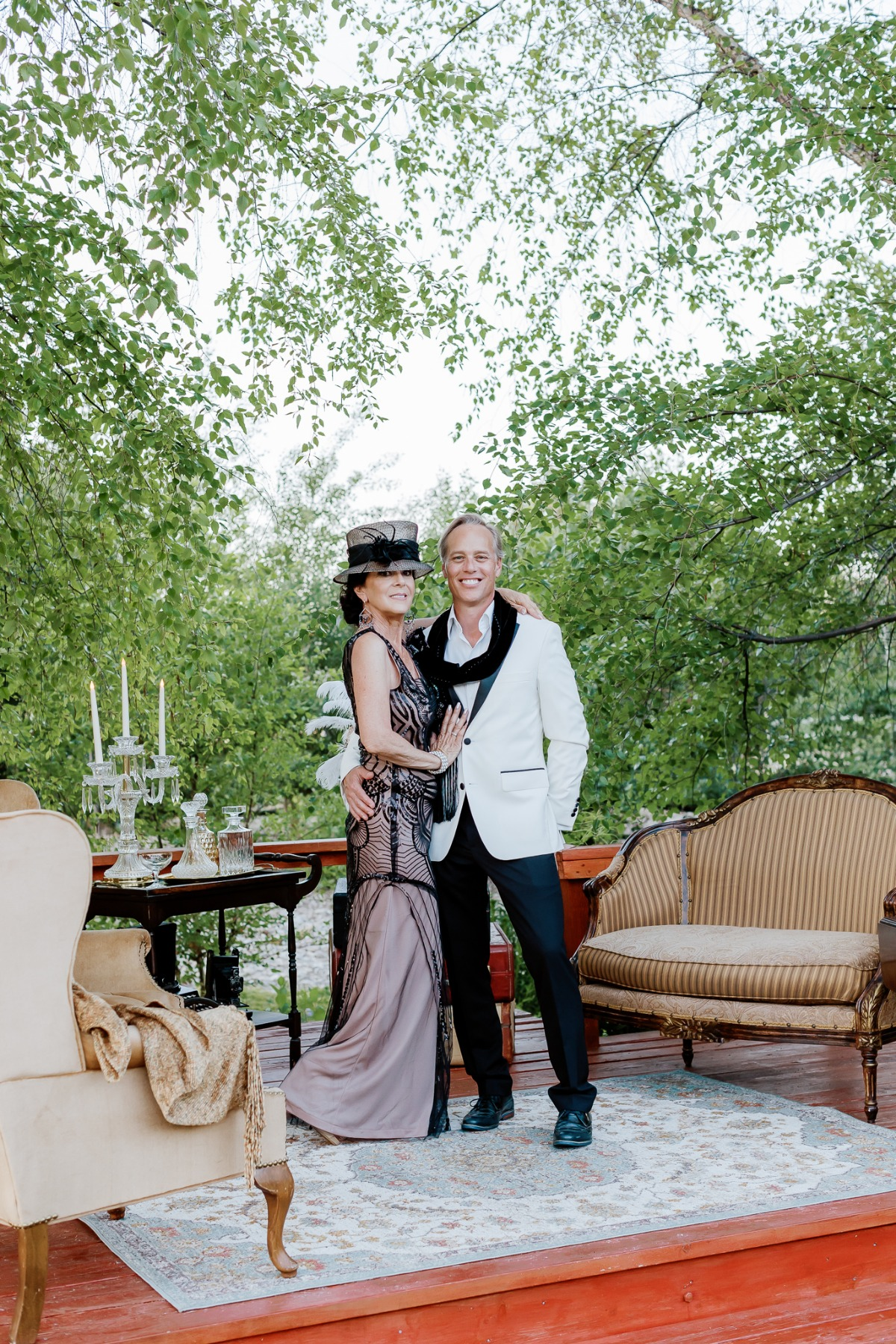 A Roaring 20's Themed Vow Renewal