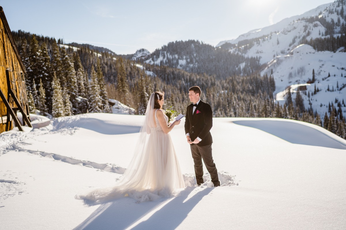 You've Never Seen A Winter Wedding Like This