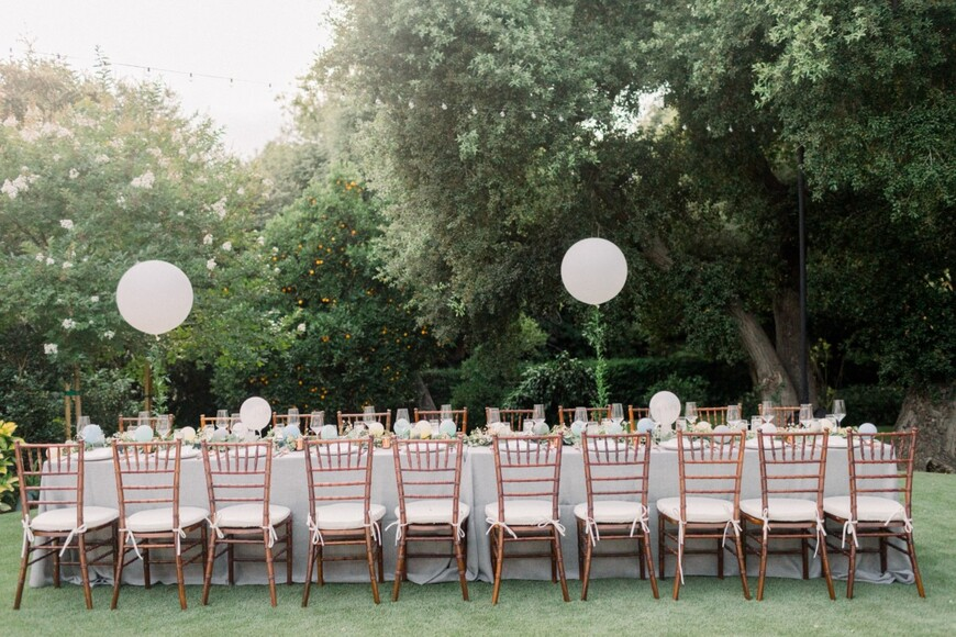 This Is Exactly How To Personalize Your Backyard Wedding for 50k