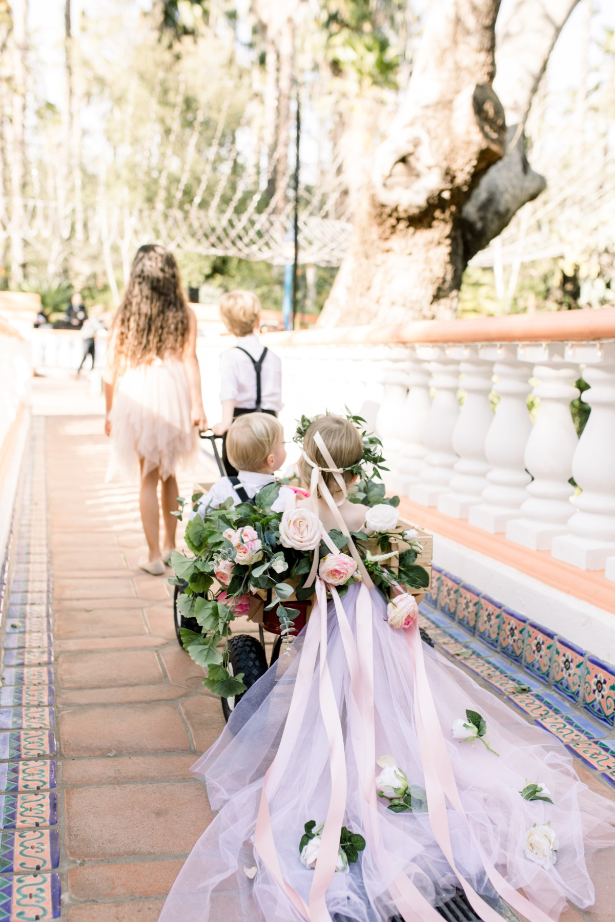 A Blossoming Blush Wedding in Southern California