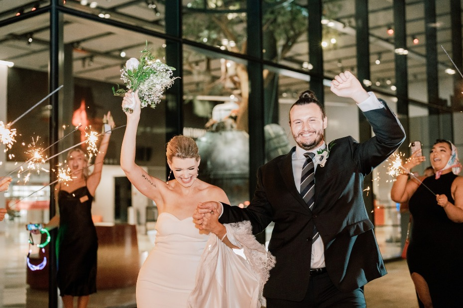 Timeless DC Wedding Inspiration At The International Spy Museum Puts the Class In Classified