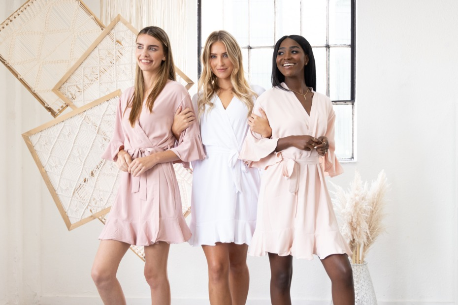 Take Our Quiz: What Should Your Bridal Party Wear the Morning Of Your Wedding