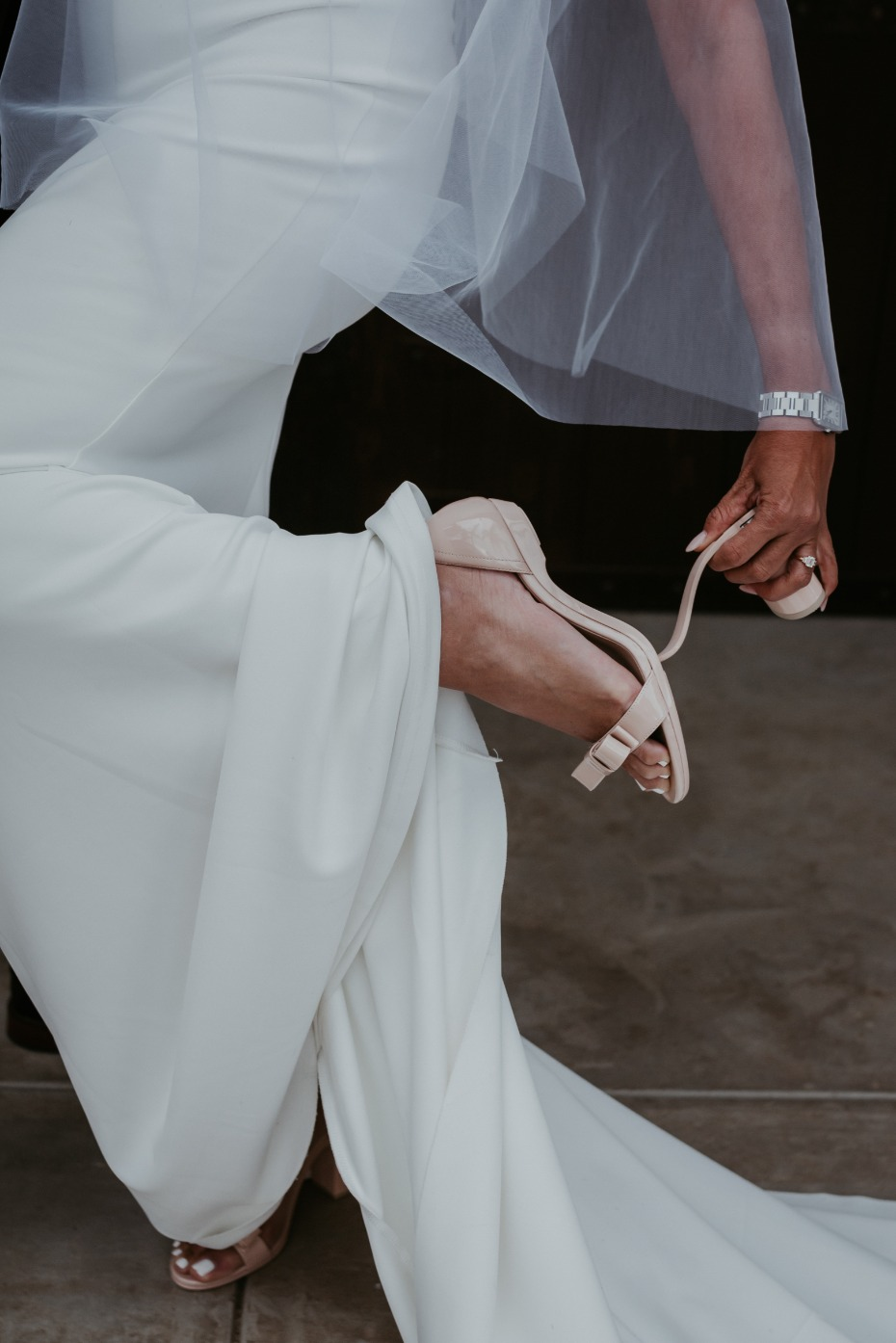 With Pashion Footwear, Brides Can Say Buh-bye to the Backup Shoes