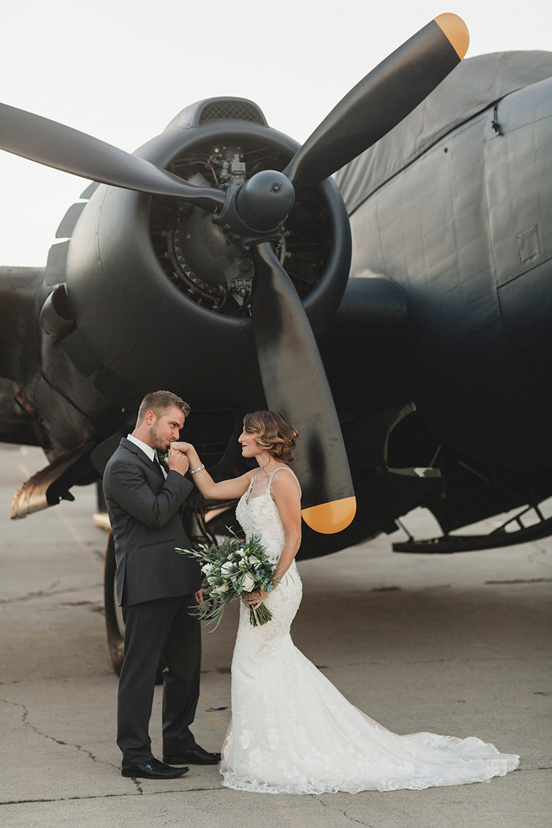 1 41 Vintage Airplane Wedding Ideas